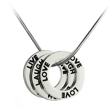 Ilaxstudio live laugh love necklace giveaway you aloadofball Gallery