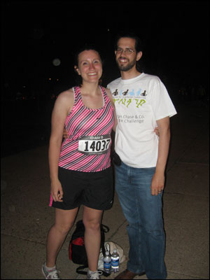 image:Chase Corporate Challenge Steven and Kim